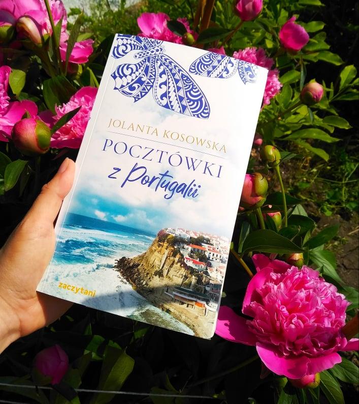 """Zdjęcie książki """"Pocztówki z Portugalii"""""""