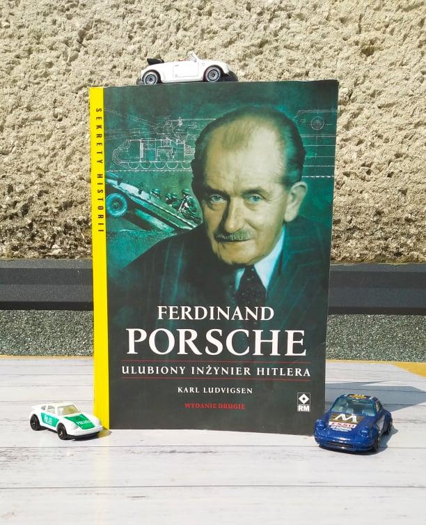 """Zdjęcie książki pt. """"Ferdinand Porsche. Ulubiony inżynier Hitlera"""""""