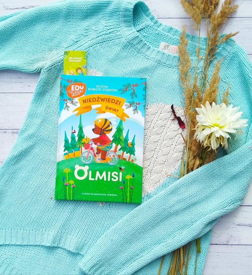 """Okładka książki """"Niedźwiedzi świat Olmisi"""""""